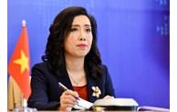 Mer Orientale: la position du Vietnam sur le règlement des différends est claire et constante