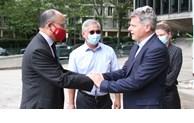 Le secrétaire national du PCF Fabien Roussel reçoit l