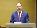 Le dirigeant de la RPDC félicite le président Nguyen Xuan Phuc
