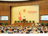 L'AN approuve la résolution sur la structure organisationnelle du gouvernement avec 27 membres