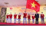 Cérémonie de départ des sportifs vietnamiens pour les JO de Tokyo 2020