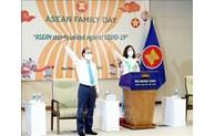 La Journée de la famille de l'ASEAN 2021 sous le signe de l'unité de lutte anti-Covid-19