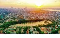 Rivières et lacs à Hanoï vus d
