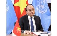 Le président Nguyen Xuan Phuc au Sommet sur la pandémie mondiale