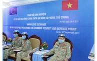 Élargir la participation des nations à la paix et à la sécurité mondiales