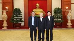 Rencontre des hauts dirigeants du Vietnam, du Cambodge et du Laos
