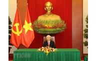 Vietnam-Chine: les leaders Nguyên Phu Trong et Xi Jinping s'entretiennent au téléphone