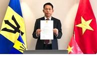 Le Vietnam et la Barbade disposent d