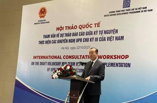 Le Vietnam réalise les engagements internationaux pour promouvoir les droits de l'homme