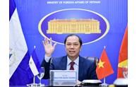 La première consultation politique Vietnam - Nicaragua