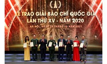 Prix national de la presse 2020: le Journal en ligne du PCV reçoit un prix C
