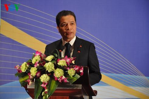 越南驻中国大使馆举办纪念越中建交66周年招待会