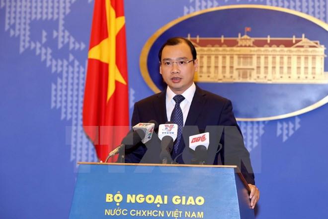 越南要求中国立即停止违犯越南对黄沙和长沙两个群岛主权的行动