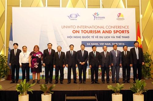 政府副总理武德儋出席旅游与体育国际会议