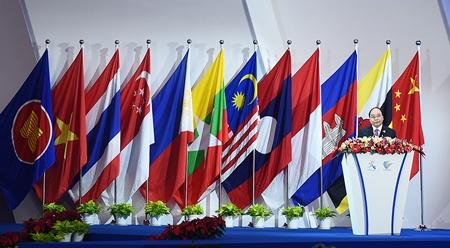 政府总理阮春福出席第十三届东盟-中国博览会暨东盟-中国商务与投资峰会开幕式