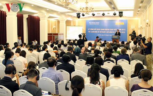 越南外交部发布2015年外交蓝皮书