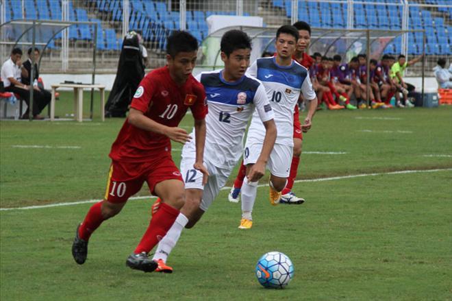 2016年亚洲U16锦标赛:越南队闯进1/4决赛