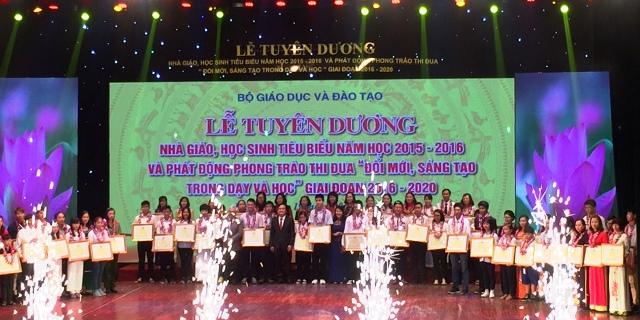 全国模范师生表彰大会在河内举行