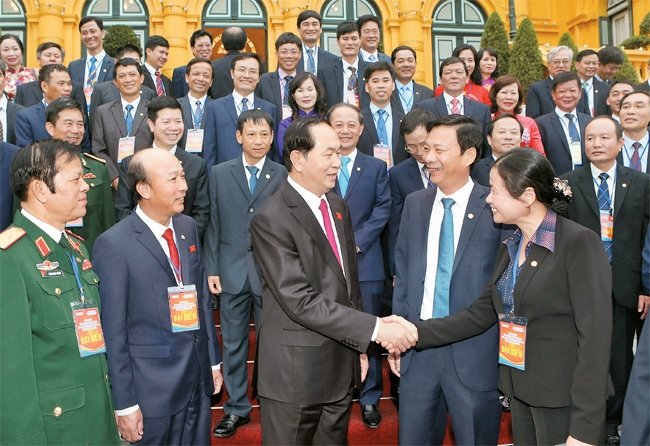 国家主席陈大光会见煤炭行业模范干部代表