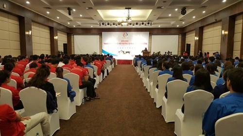 2016年第三届越中青年大联欢:青年与环保和可持续发展论坛在广宁省举行