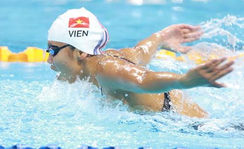 短池世锦赛:阮氏映圆无缘400米自由泳奖牌