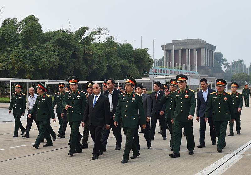胡志明主席陵完成为期3个月的维修保养 今天12月6日开始对外开放