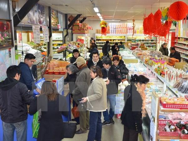 旅居巴黎越南人喜迎新春