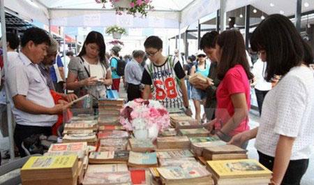 2017年胡志明市丁酉春节图书街将于本月25日开街