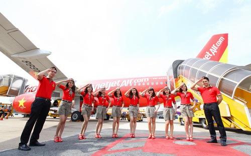 越捷航空公司开通胡志明市至台中直达航线