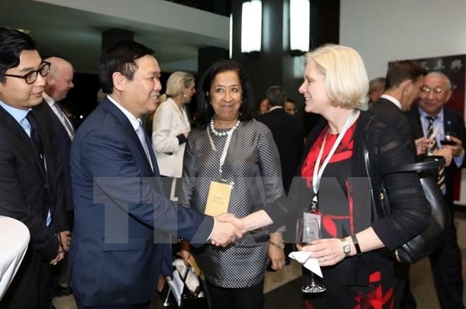 政府副总理王廷惠出席2017年春季论坛