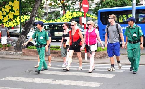 2017年2月赴越南旅游的国际游客量约达120万人次
