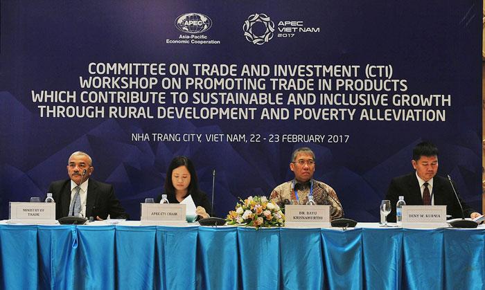 2017年APEC峰会:提高贸易对发展农村和消饥减贫的作用