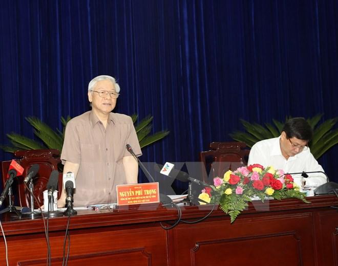 越共中央总书记阮富仲:薄辽须着重发展海洋经济