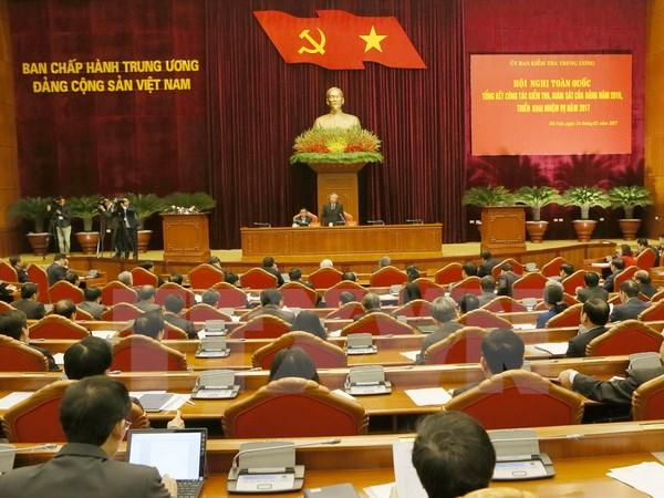 阮富仲总书记出席全国党的监督检查工作会议
