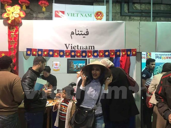 越南参加埃及的萨奇雅(Sakia)国际文化节