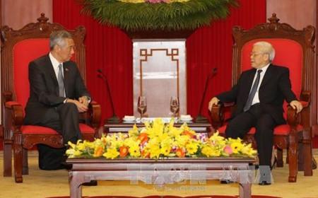 新加坡重视推动与越南的战略伙伴关系