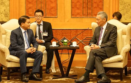 河内市希望在智慧城市建设同新加坡加强合作