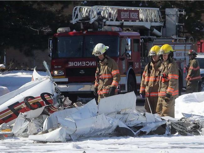 加拿大两架小型飞机相撞致1死3伤