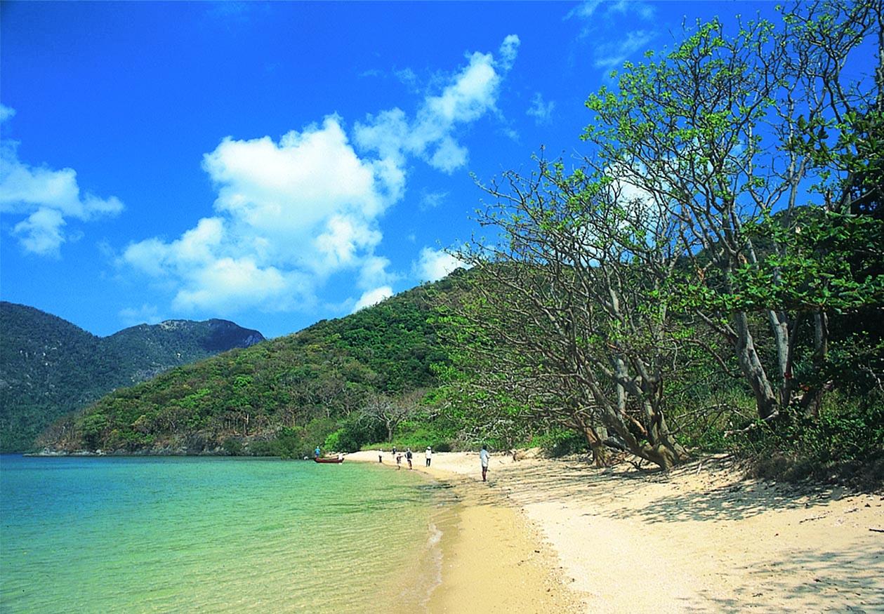 昆岛跻身亚洲最宁静岛屿之列