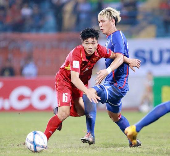 友谊赛:越南男足队战平中国台湾的中华台北队