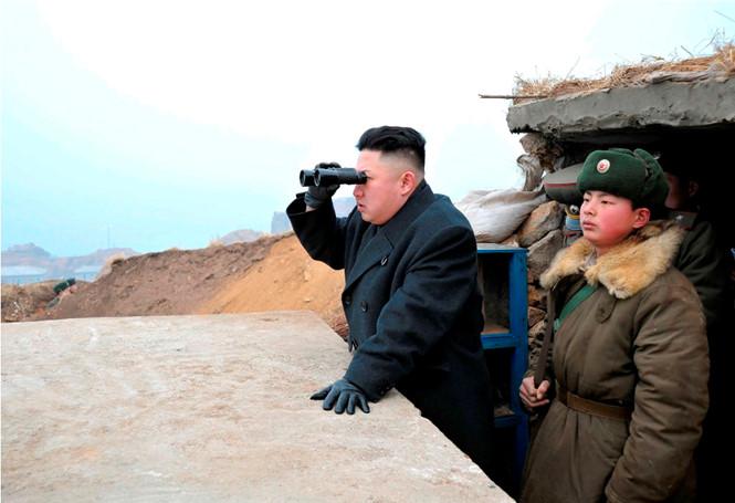 朝鲜进行新型大功率火箭发动机的地上点火试验