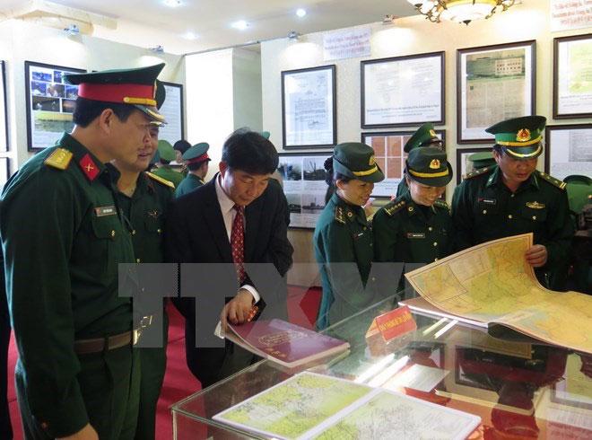 黄沙与长沙归属越南地图资料展在薄辽省举行