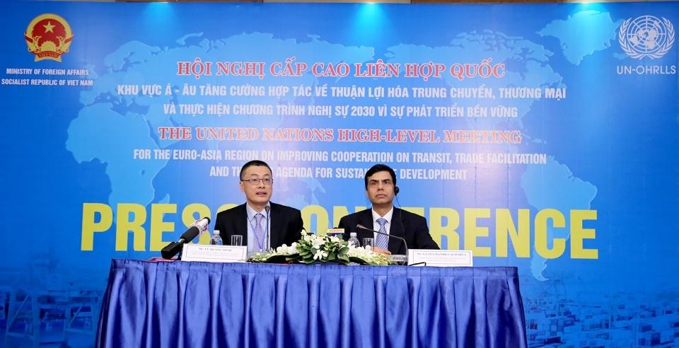 越南成功主办联合国亚欧地区高级别会议