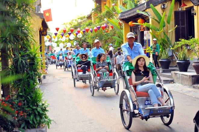 国际幸福日期间游客可免费参观会安古城