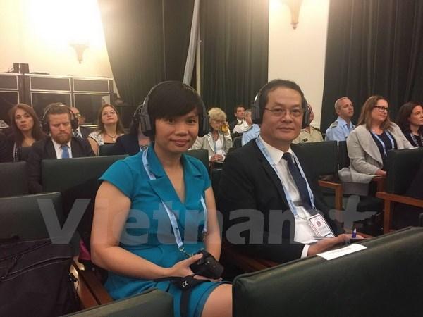 越南参加在阿根廷举行的学校安全国际会议