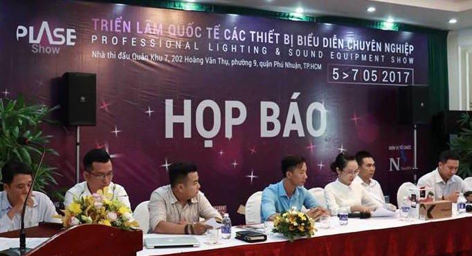 2017国际专业灯光、音响展览会在胡志明市举行