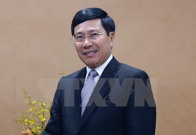 政府副总理范平明率团赴中国出席越中双边合作指委会第十次会议