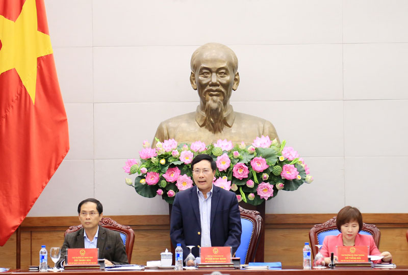越南2017年亚太经合组织国家委员会召开第七次全体会议