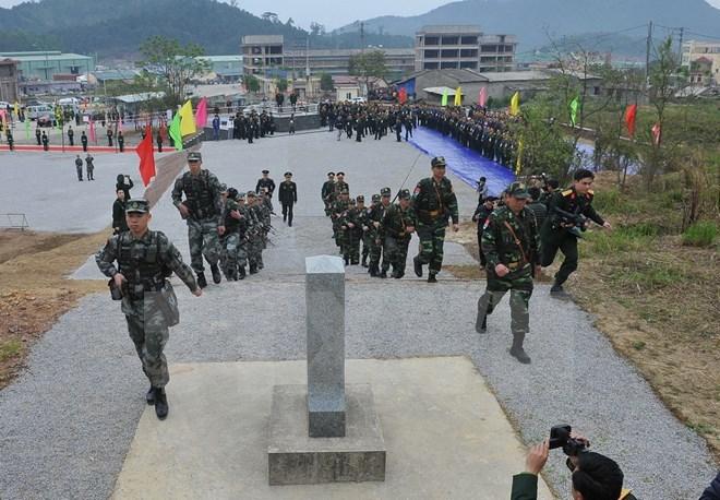 越中边界谈判机制促进工作取得实质性进展