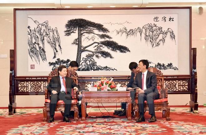 越南最高人民检察院代表团对中国进行工作访问
